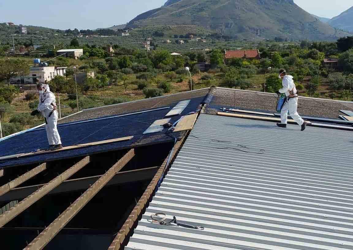 amianto bonifica tetti