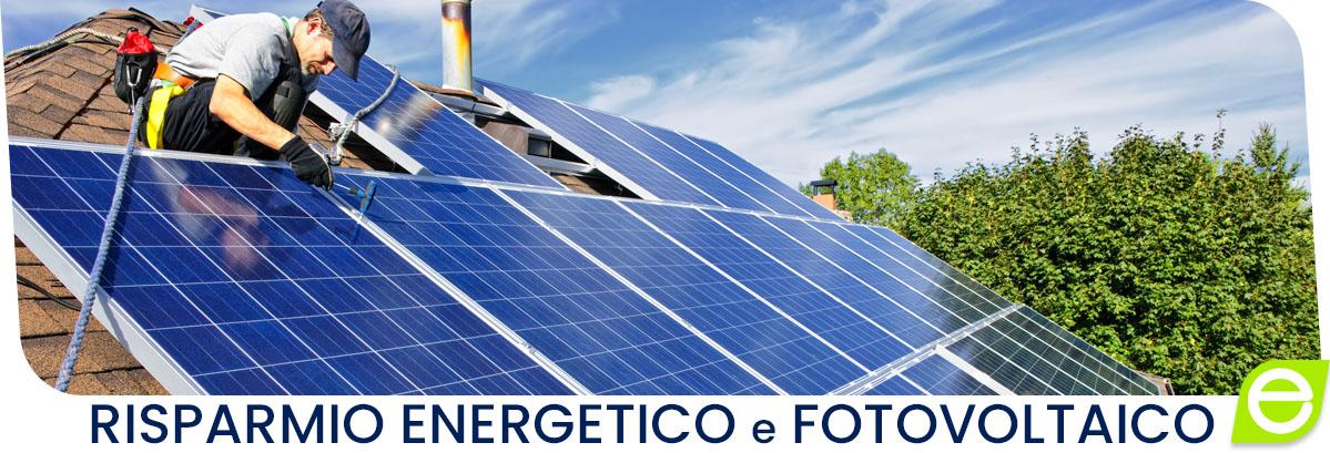 Impianto fotovoltaico risparmio energetico